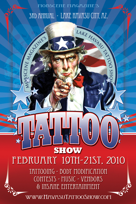 CHECK OUT OUR 3RD ANNUAL TATTOO SHOW!! BREAKIN' OFF ALL YOU SICK AND TWISTED